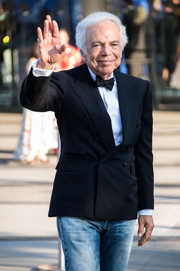 Fashion designer Ralph Lauren is seen arriving to the 2018 CFDA Fashion Awards at Brooklyn Museum on June 4, 2018 in New York City.