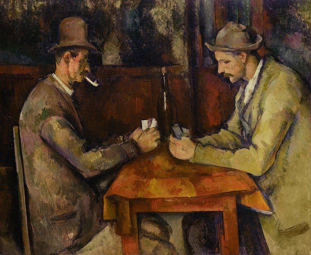 Paul Cezanne - The Card Players