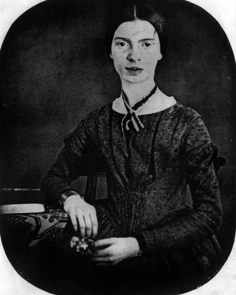 Portret of Emily Dickinson