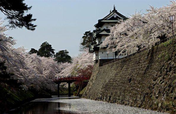 Hirosaki castle bridge