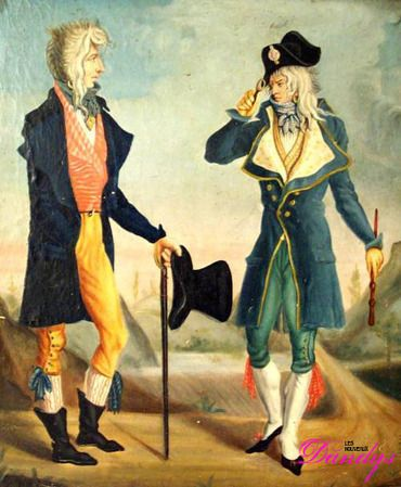 Charles Vernet, Un Incroyable de 1796,