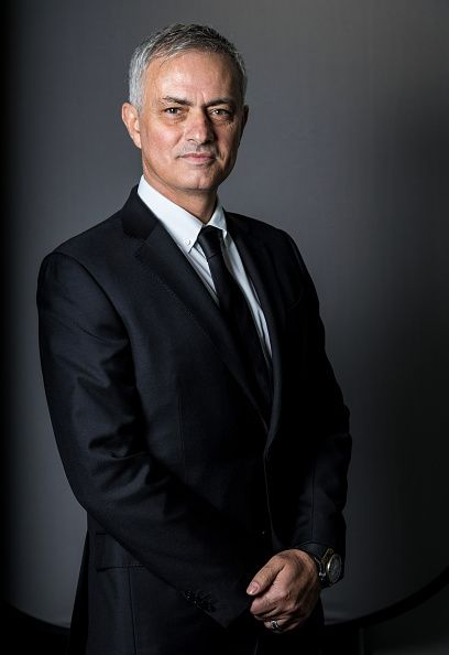 Jose mourinho in a suit and tie