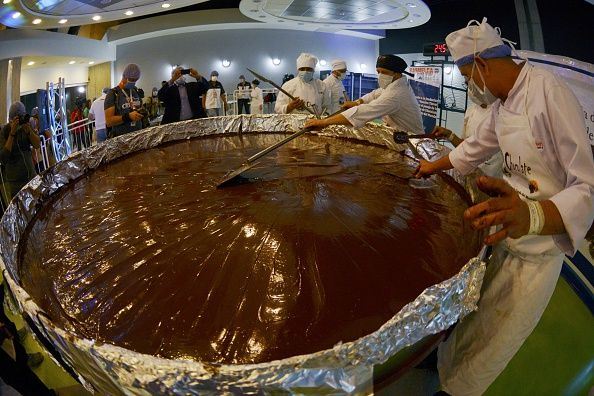 Cgefs prepare a huge chocolate coin