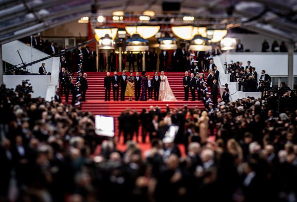 Cannes film festival ceremony in 2019