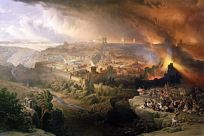 the great fire of rome painting