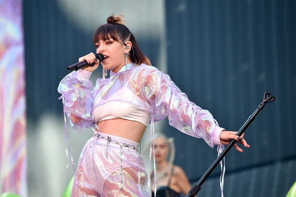 Charli xcx performing in 2018